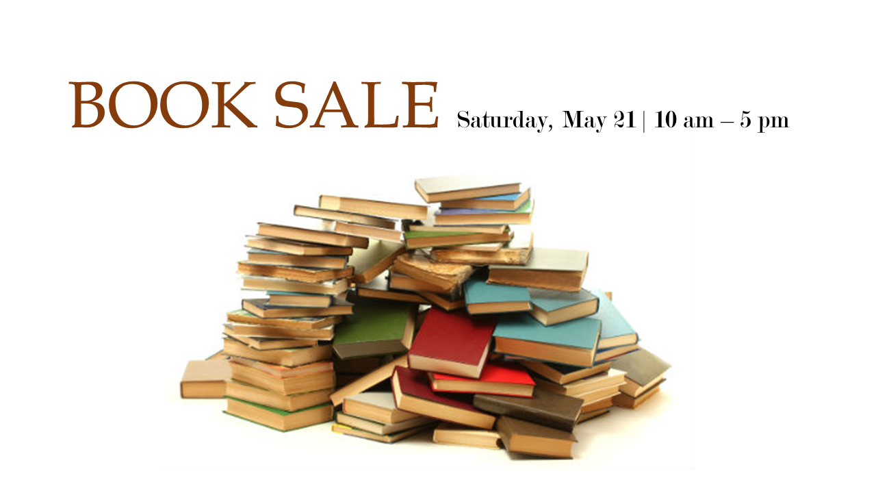 2016May21BookSale